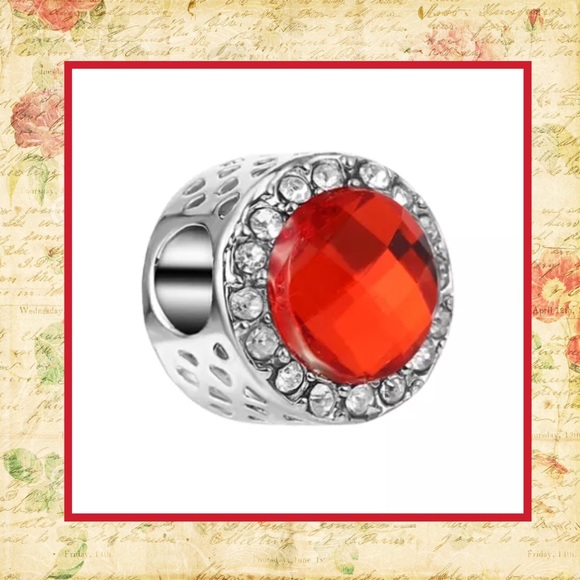 a890df3bc Unique Styles beads Jewelry | Red Bling Rhinestone Diamond Bead ...